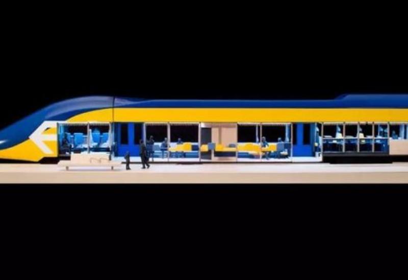 """В Нидерландах придумали поезда, в которых можно будет работать <span class=""""color_red"""">- ФОТО</span>"""