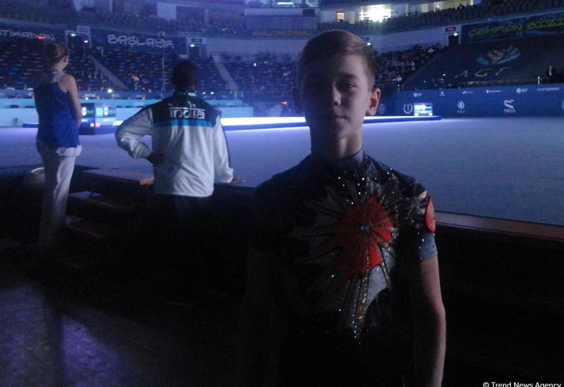Российский спортсмен: Национальная арена гимнастики в Баку большая и красивая, здесь хорошая атмосфера