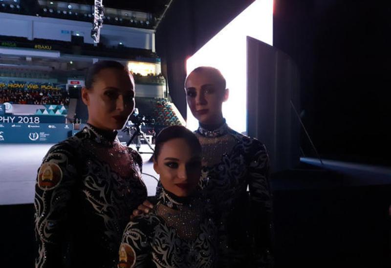 Белорусская гимнастка: Организация Кубка мира по акробатической гимнастике в Баку очень хорошая
