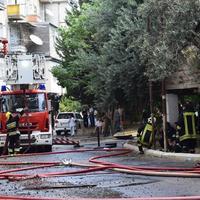 В известном ресторане в центре Баку произошел пожар