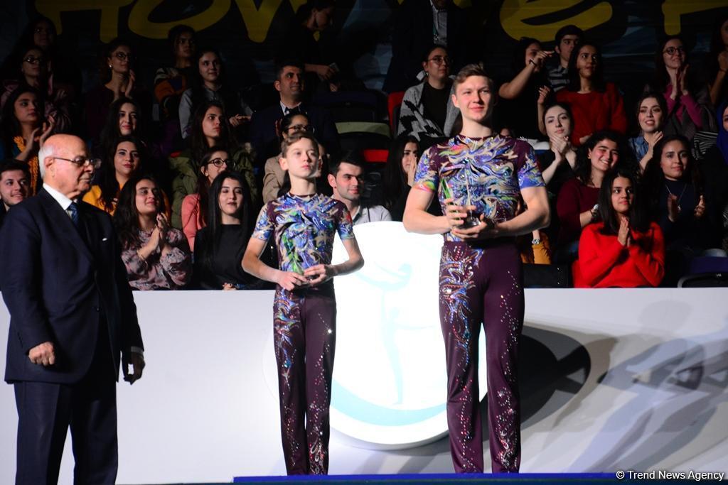 В рамках Кубка мира по акробатической гимнастике в Баку прошло вручение AGF Trophy