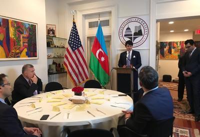 Dövlət Komitəsinin nümayəndə heyəti Vaşinqtonda görüşlər keçirir - FOTO