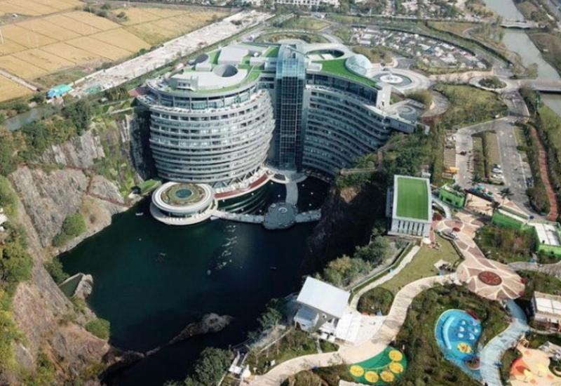 """Первый в мире подземный отель открыли в Китае <span class=""""color_red"""">- ВИДЕО</span>"""