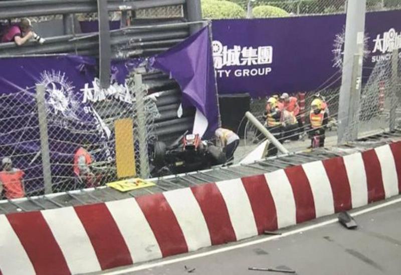 Немецкая гонщица вылетела с трассы на этапе Гран-при Формулы-3