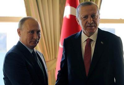 "Путин поблагодарил Эрдогана за реализацию ""Турецкого потока"""
