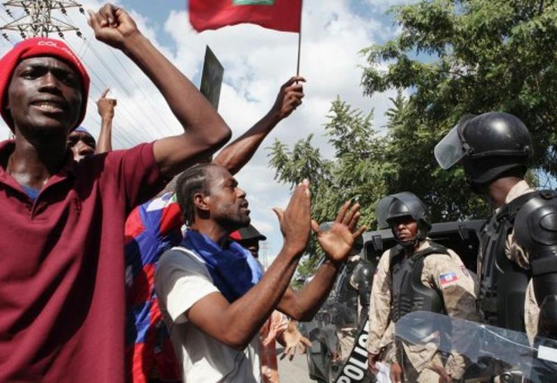 Протесты в Гаити, есть погибшие