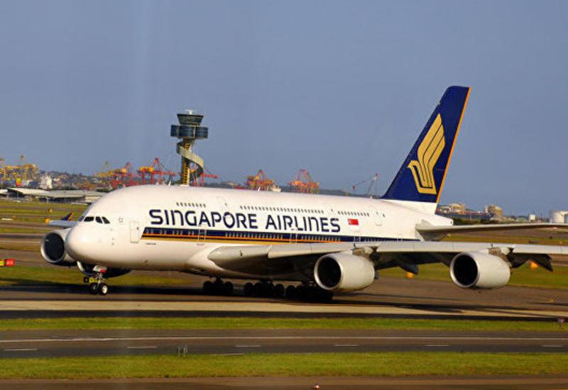 "Самолет Singapore Airlines вернулся в Сингапур <span class=""color_red"">- ПРИЧИНА</span>"