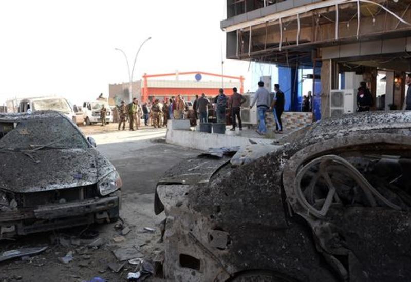 Теракт в Ираке: 13 автомобилей взлетели в воздух