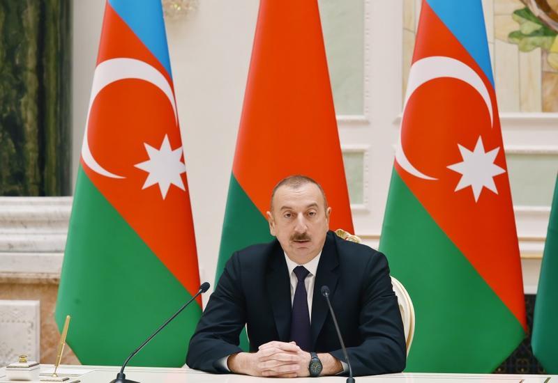 Президент Ильхам Алиев: Военно-техническое сотрудничество между Азербайджаном и Беларусью имеет достаточно большие объемы и хорошую тенденцию к расширению