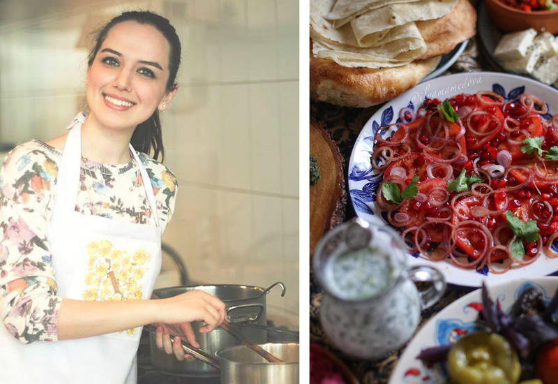 Карпаччо из газахских помидоров – Рецепт от Или Мамедовой