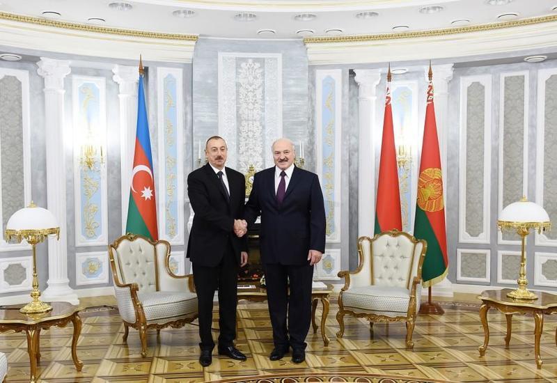 Лукашенко: Визит Президента Ильхама Алиева в Беларусь - новый шаг к выстраиванию отношений на перспективу