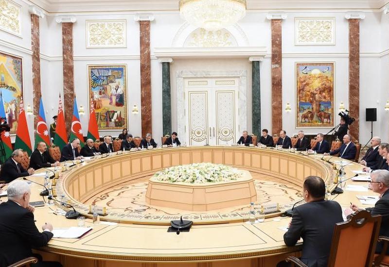 Президент Ильхам Алиев: Для Азербайджана Беларусь – это добрый друг и надежный партнер