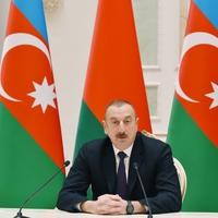Президент Ильхам Алиев: Военно-техническое сотрудничество между Азербайджаном и Беларусью имеет уже хорошую историю, достаточно большие объемы и хорошую тенденцию к расширению