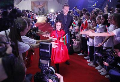 """""""Eurovision""""un rəsmi açılışı oldu - Fidan qırmızı xalçada <span class=""""color_red"""">- FOTO</span>"""