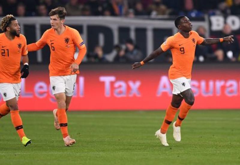 Голландия выиграла группу Лиги наций