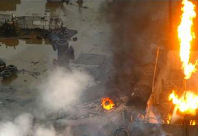 """Взрыв в Гяндже, есть погибший и пострадавшие <span class=""""color_red"""">- ОБНОВЛЕНО</span>"""