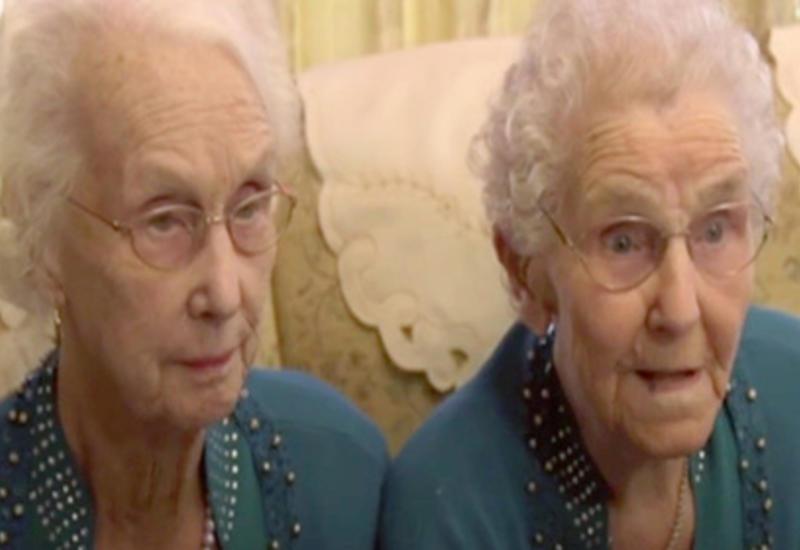 102-летние близнецы раскрыли секрет своего долголетия