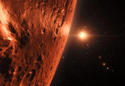 """Ученые усомнились в обитаемости """"семи сестер Земли"""" у соседней звезды"""