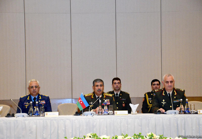 Азербайджан, Грузия и Турция проводят военные переговоры в Баку