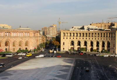 В Ереване протестуют страховщики