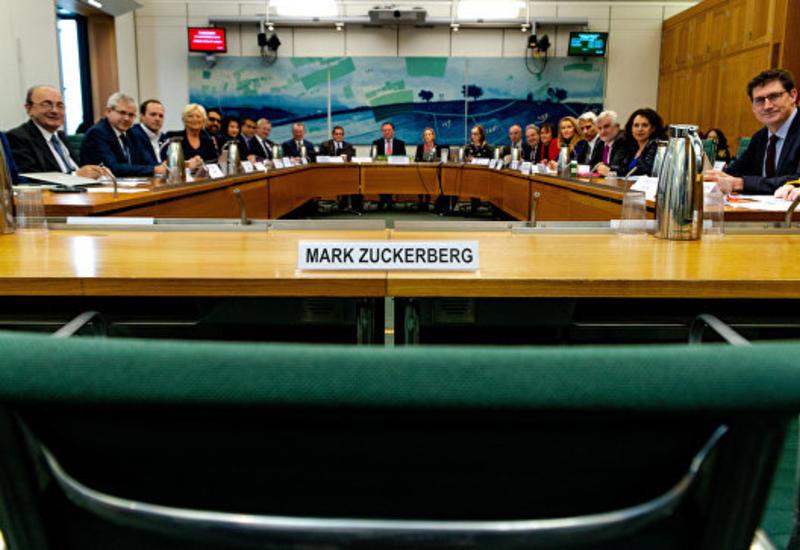 Цукерберг не пришел на заседание гранд-комитета по фейковым новостям
