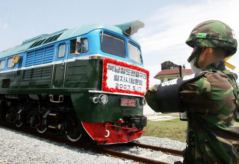 В КНДР из Сеула впервые за последние десять лет отправился поезд