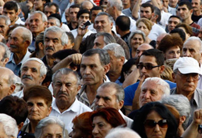 Последние данные по численности населения вызвали в Армении панику