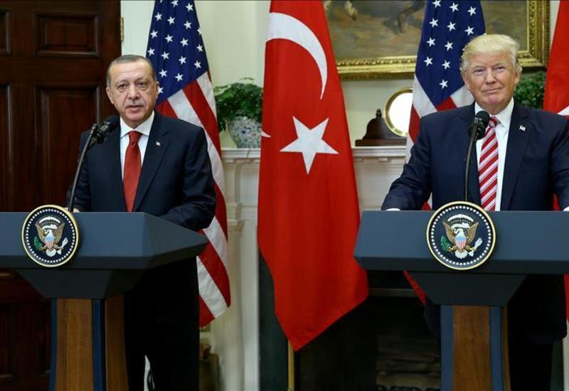 Трамп работает с Эрдоганом по ситуации в Идлибе