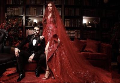"""Еще одно фантастическое свадебное платье Дипики Падуконе <span class=""""color_red"""">- ФОТО</span>"""