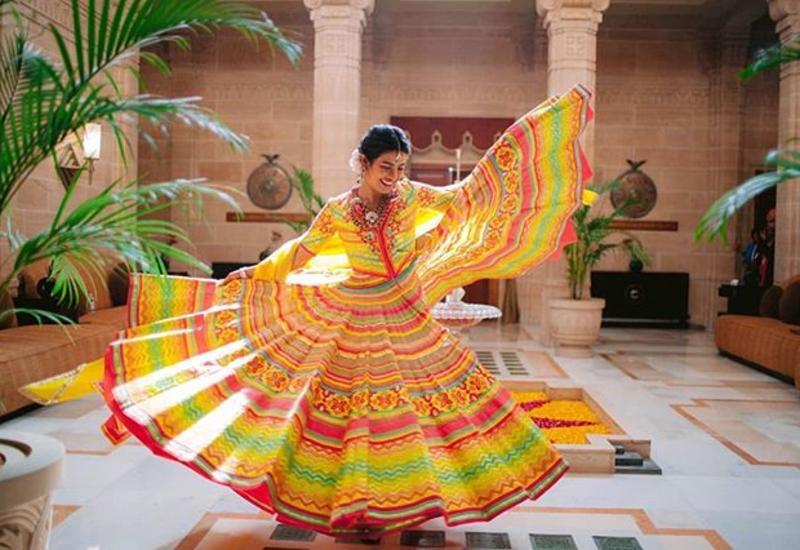 Приянка Чопра провела девичник в Мумбае
