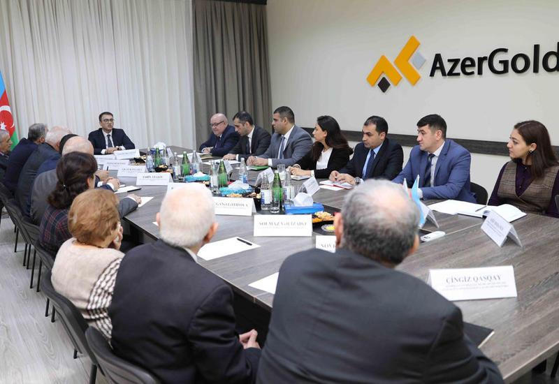 AzerGold провел переговоры с Академией наук Азербайджана