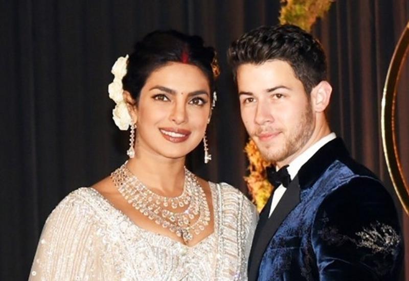 Третье платье Приянки Чопры и невероятно красивое свадебное видео