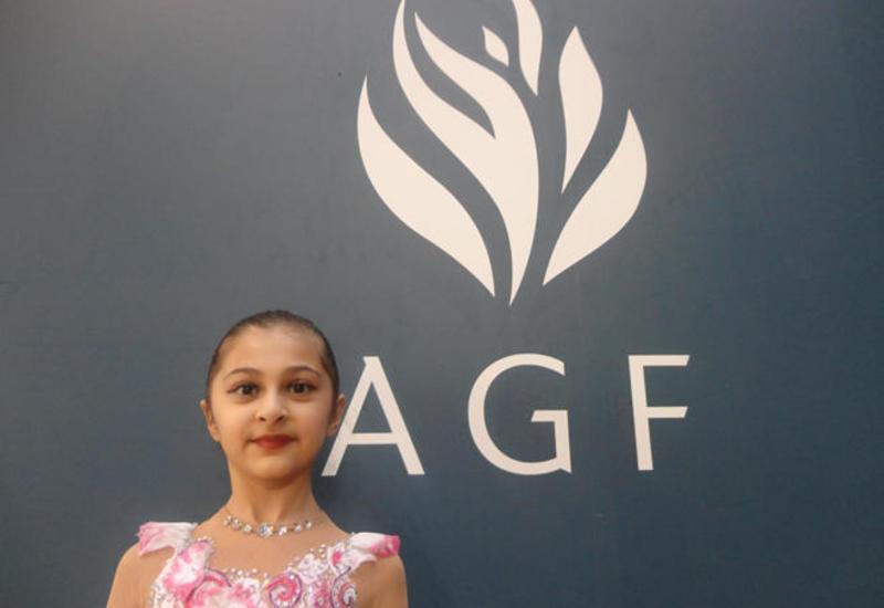 Юная спортсменка из Исмаиллинского района: Мне нравится участвовать в соревнованиях в Национальной арене гимнастики