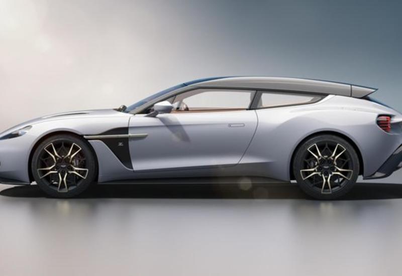 Раскрыта внешность нового универсала от Aston Martin
