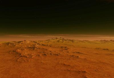 НаМарсе нашли следы обитаемых водоемов