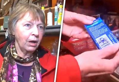 """Купив ватные палочки за 50 центов и открыв их, она не поверила своим глазам <span class=""""color_red"""">- ВИДЕО</span>"""