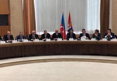 "Азербайджан и Сербия: о приоритетах сотрудничества в сфере торговли, инвестиций, туризма <span class=""color_red"">- ФОТО</span>"