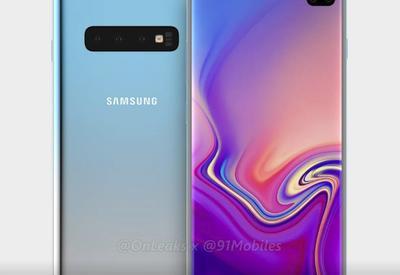 Экран Galaxy S10+ с двумя вырезами появился на фото