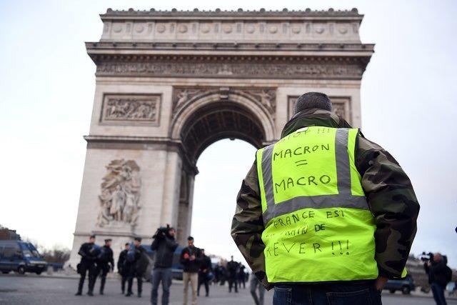 Протестные акции в Париже: задержано более 1700 человек, десятки раненых