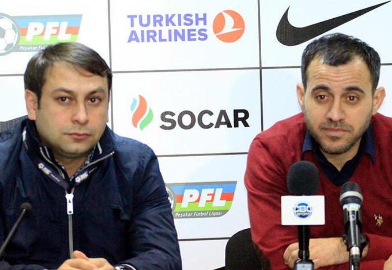 """""""Matçın sonlarında 6 müdafiəçi ilə oynadıq"""" <span class=""""color_red"""">- Ayxan Abbasov</span>"""