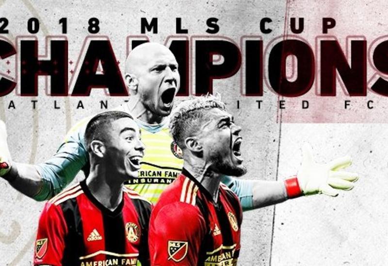 Чемпионат MLS выиграл клуб, который проводил в лиге всего второй сезон