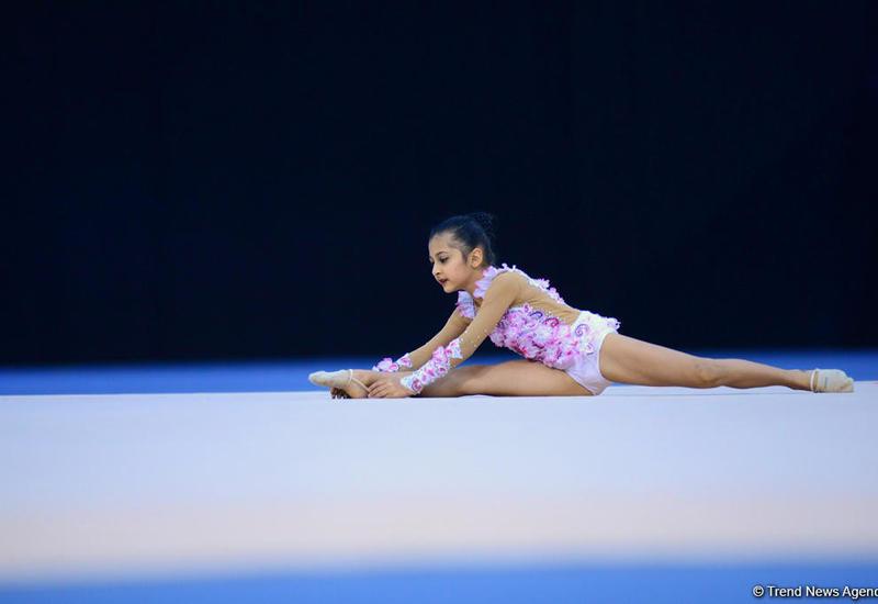 В Баку стартовал пятый Межрегиональный кубок по художественной гимнастике