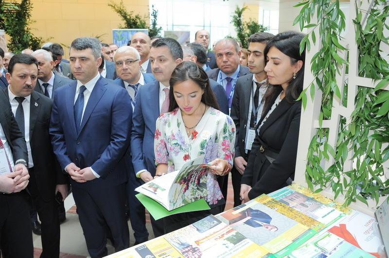 Вице-президент Фонда Гейдара Алиева Лейла Алиева приняла участие в международном форуме «AgTech and Green Energy»