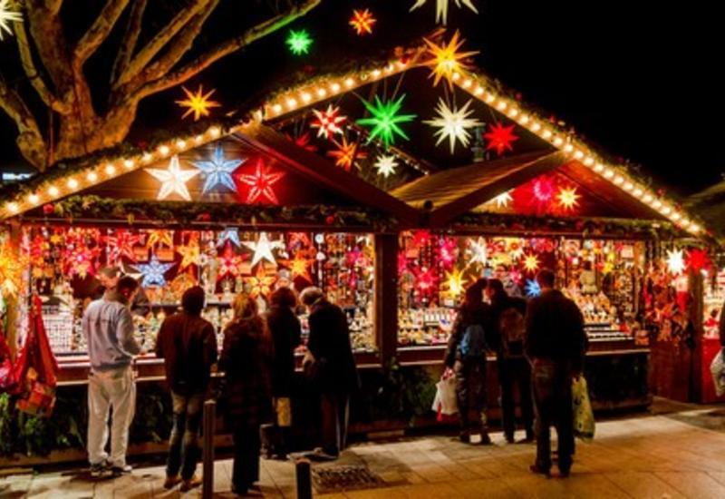 В Баку открылись новогодние ярмарки