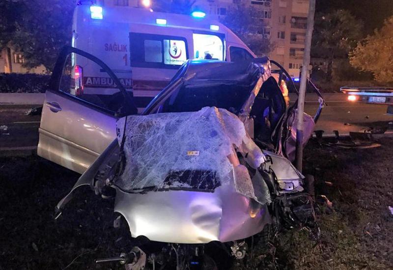 Второе за день тяжелое ДТП в Турции, много пострадавших
