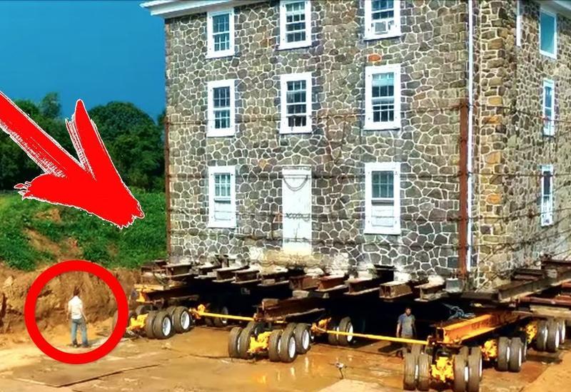 """Мужчина передвинул свой дом на 40 метров, чтобы избежать сноса <span class=""""color_red"""">- ВИДЕО</span>"""