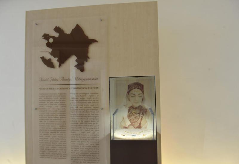 """В Центре Гейдара Алиева представлены предметы украшения эпохи позднего железа <span class=""""color_red"""">- ФОТО</span>"""