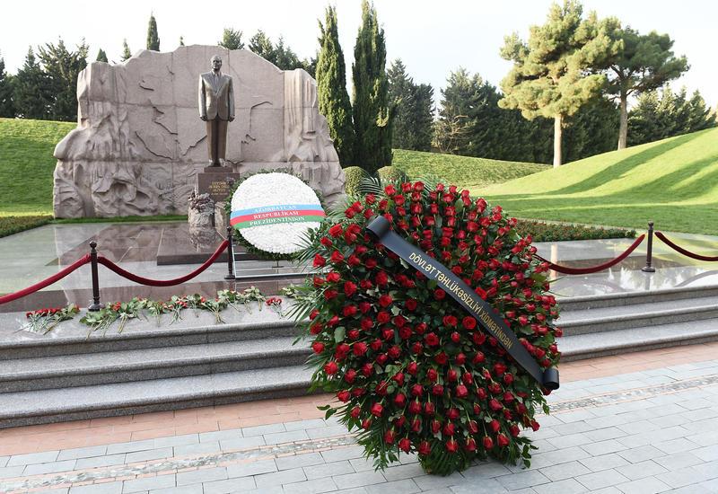 """Личный состав Службы государственной безопасности почтил память великого лидера Гейдара Алиева <span class=""""color_red"""">- ФОТО</span>"""