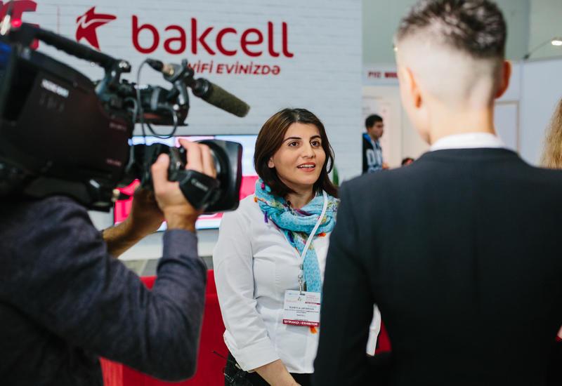 Компания Bakcell награждена за «Лучшее представление стенда» на Bakutel 2018