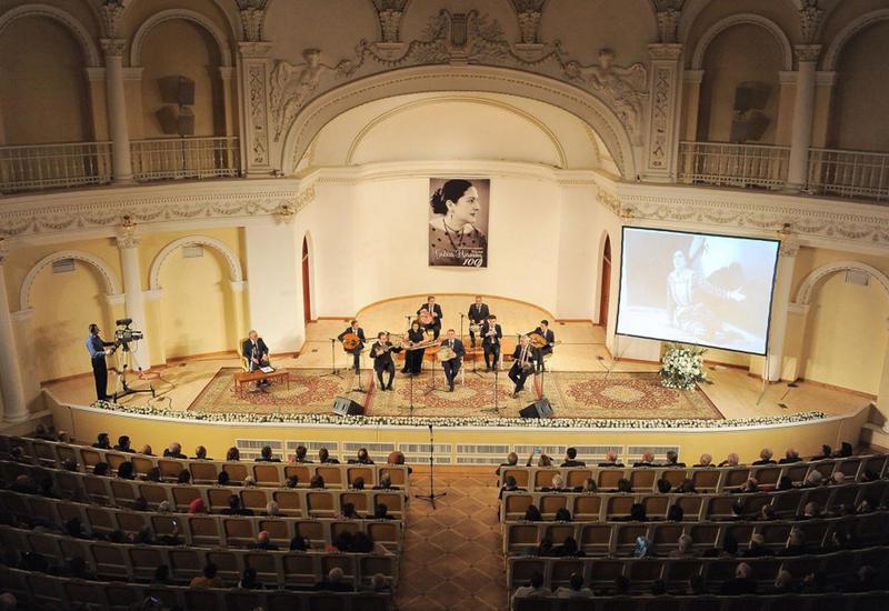 В Филармонии отметили 100-летие известной оперной певицы Гюльхар Гасановой